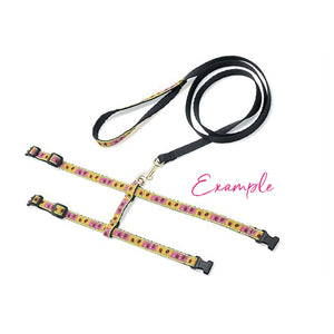 Pink Crush Cat Leash and Harness Set