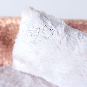 Crystal Collection Dog Bed Champagne