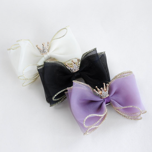 Crown Bow (3 Colors)