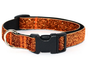 Copper Glam Cat Collar