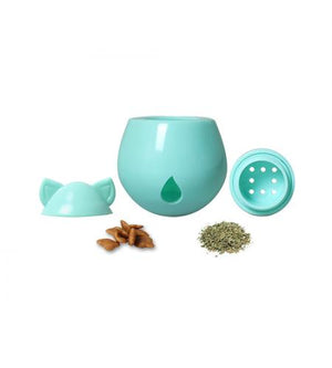 Interactive Cat Treat Dispenser / Toy - Blue Tealberry