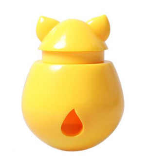Interactive Cat Treat Dispenser / Toy - Yellow Banana