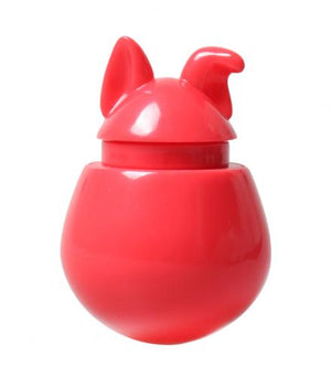 Interactive Dog Treat Dispenser / Toy - Red Watermelon