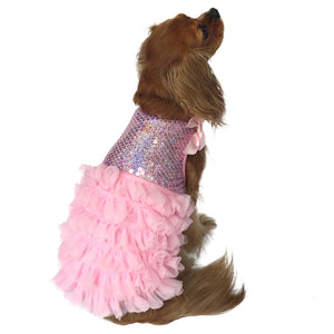 Some Like It Hot Dress Pink Sequins