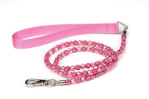 Fuchsia Fireball Dog Leash