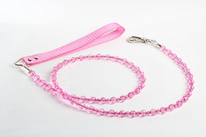 Fuchsia Crystal Dog Leash