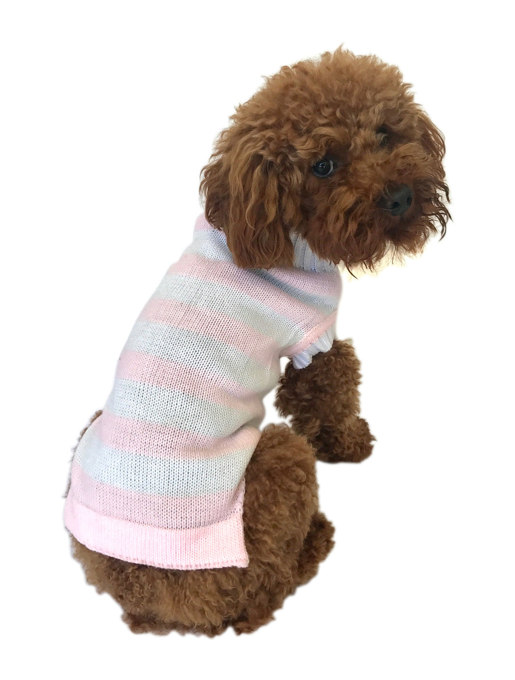 Glow in the BARK Striped Sweater, Pink
