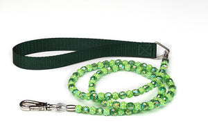 Green Fireball Dog Leash
