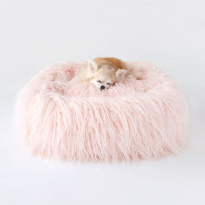 Himalayan Yak Bed - Peach