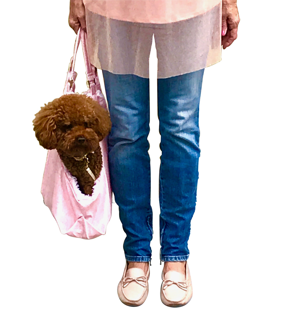 Pink Snake Hollywood Dog Tote Carrier