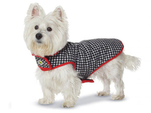 Fleece Lined Coat _ Houndstooth