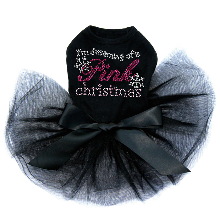 I'm Dreaming Of A Pink Christmas - Black Tutu
