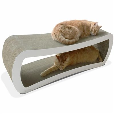 Jumbo Cat Scratcher Lounge by PetFusion