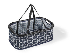 Monaco Aluminum lightweight frame (Black Geometric) for pets up to 60 lbs