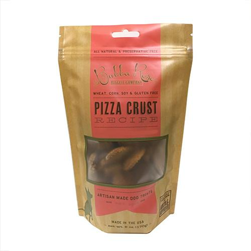 Pizza Crust Dog Biscuits (2-pack)