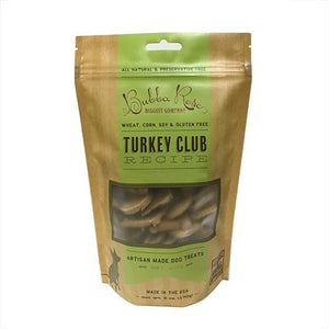 Turkey Club Dog Biscuits (2-pack)