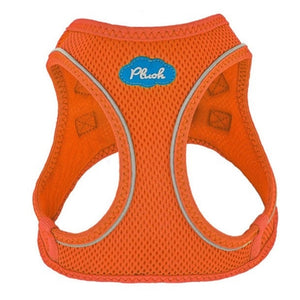 Orange Plush Step In Vest Air-Mesh Harness