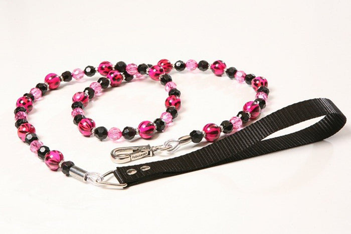 Pink Animal Print Leash