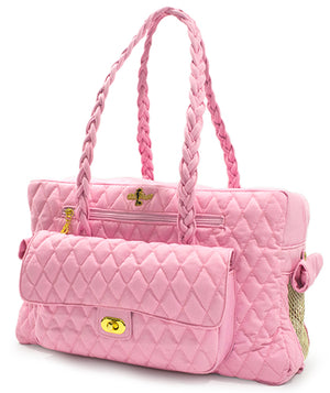 Pink Porsha Dog Carrier