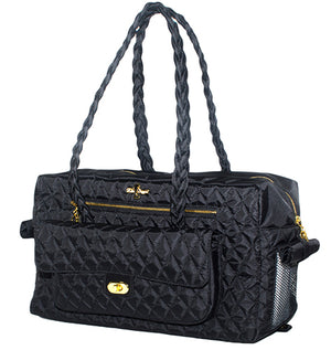 Black Porsha Dog Carrier