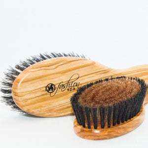 Bronze Ionic Positive Charge Brush for Short Coat Dogs
