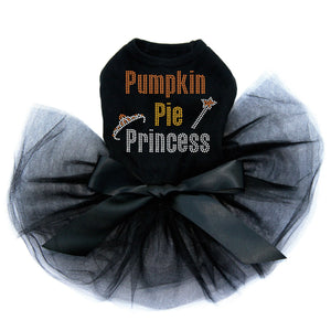 Pumpkin Pie Princess - Tutu - Black, Pink or Red