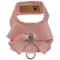 Puppy Pink Glitzerati Nouveau Bow Tinkie Harness