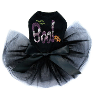 Purple Boo - Tutu - Black, Pink or Red