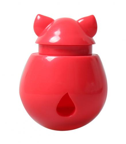 Interactive Cat Treat Dispenser / Toy - Red Watermelon