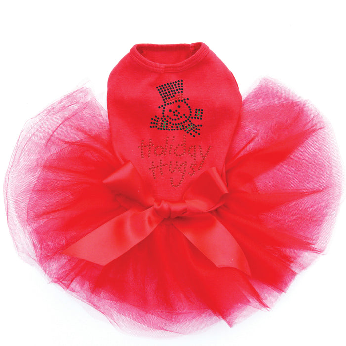 Holiday Hugs - Tutu-Red