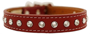 Tuscan - Crystallized Collars w/Swarovski Crystals Red