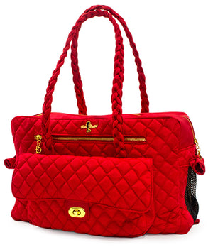 Red Porsha Dog Carrier