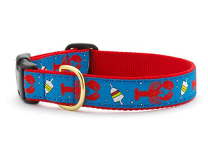 Lobster And Buoy Dog Collar