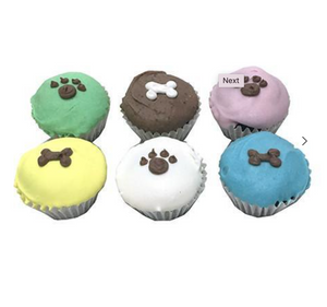 Mini Dog Cupcakes (Party Pack 15)