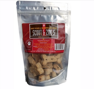Banana, Veggie, Potato-Cranberry 3 pack Dog Treats