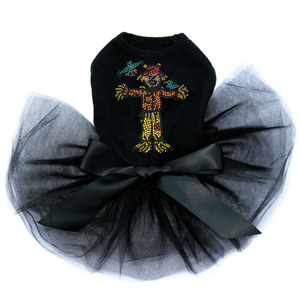 Scarecrow Dog - Tutu - Black, Pink or Red