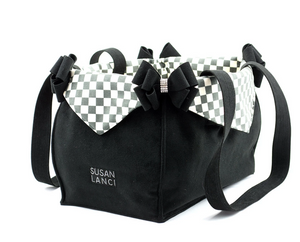 Windsor Check Luxury Pet Purse Carrier