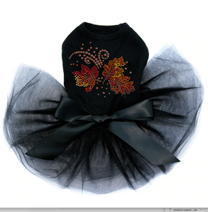 Fall Leaves #1- Tutu - Black, Pink or Red