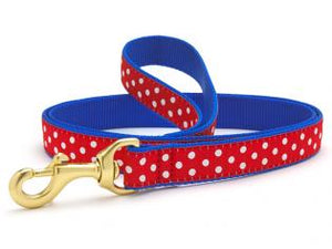 Swiss Dot Dog Leash