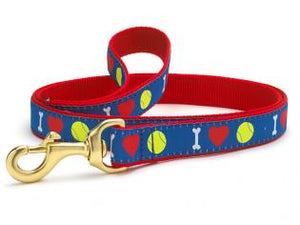 Tennisball Dog Leash