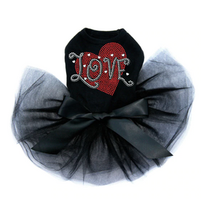 Love Red Heart - Tutu