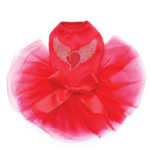 Heart with Wings & Halo - Tutu