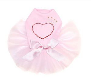 Heart with Crown Tutu