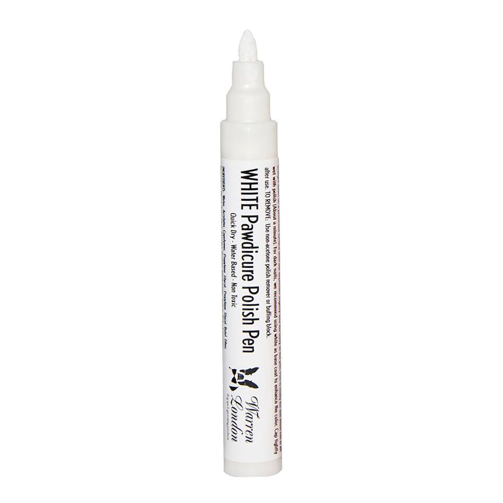 White Pawdicure Polish Pen