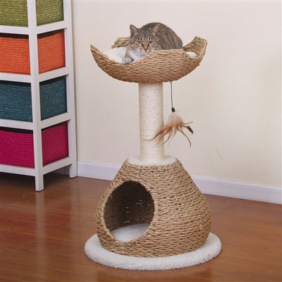 Woven Cat Scratching Post