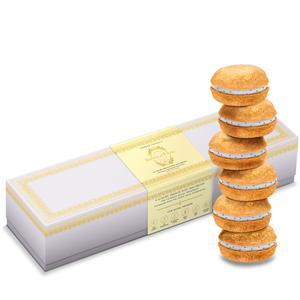 French Vanilla Macaron Box of 6