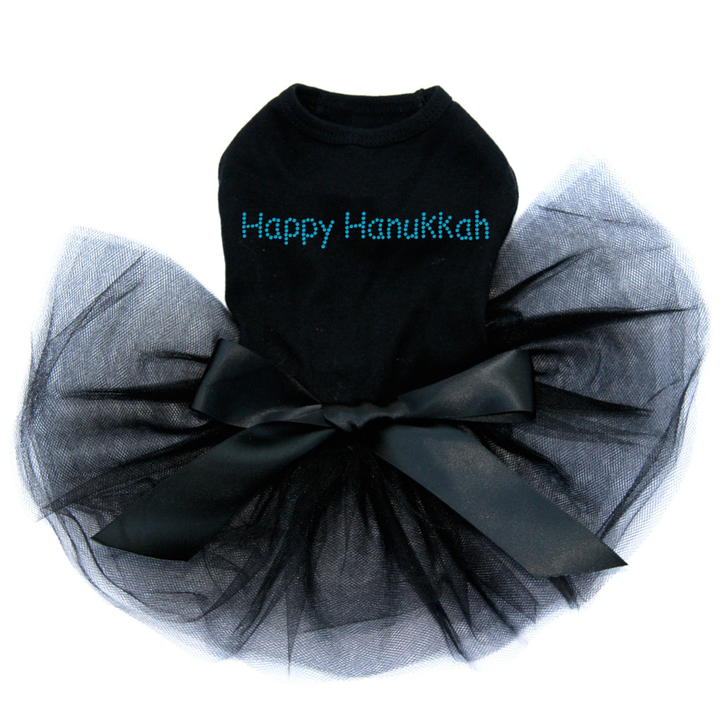 Happy Hanukkah - Tutu Black