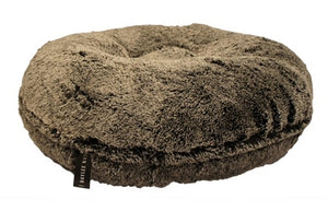 Black Frosted Bagel Beds