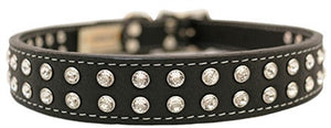 Tuscan - Crystallized Collars w/Swarovski Crystals Black
