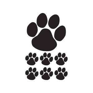 Paw Print Temporary Tattoo